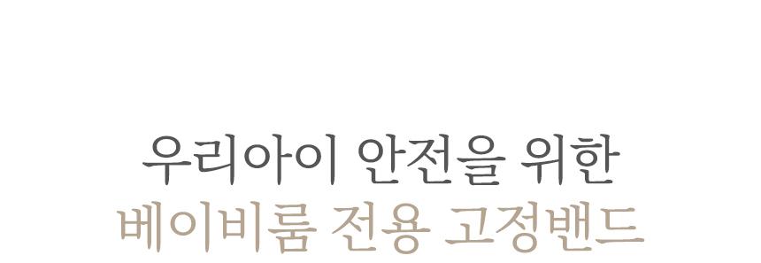 고정밴드 타이틀